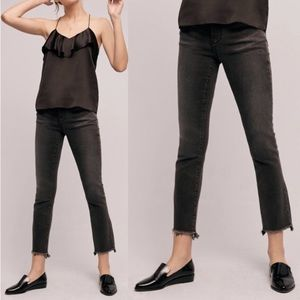 Anthropologie Pilcro Parallel crop jeans